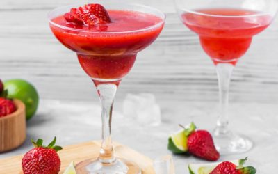 Frozen Strawberry Daiquiri Cocktail Recipe